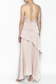 Mystic Satin Maxi Dress - Back cropped