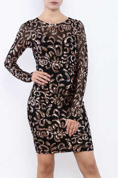 Shoptiques Product: Sequin Mesh Dress