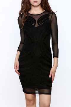 Mystic Semi Sheer Bodycon Dress - Product List Image