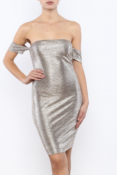 Shoptiques Product: Shiny Gold Dress