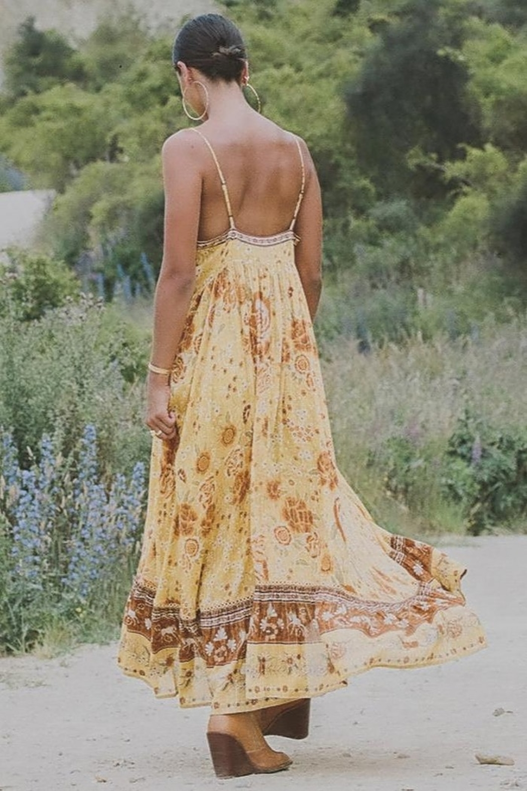 Spell & the Gypsy Collective Mystic Strappy Maxi Dress - Side Cropped Image