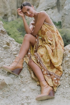 Spell & the Gypsy Collective Mystic Strappy Maxi Dress - Product List Image