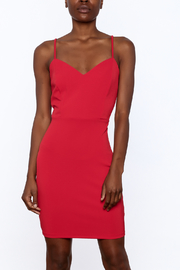 Mystic Bold Red Strappy Dress - Product Mini Image