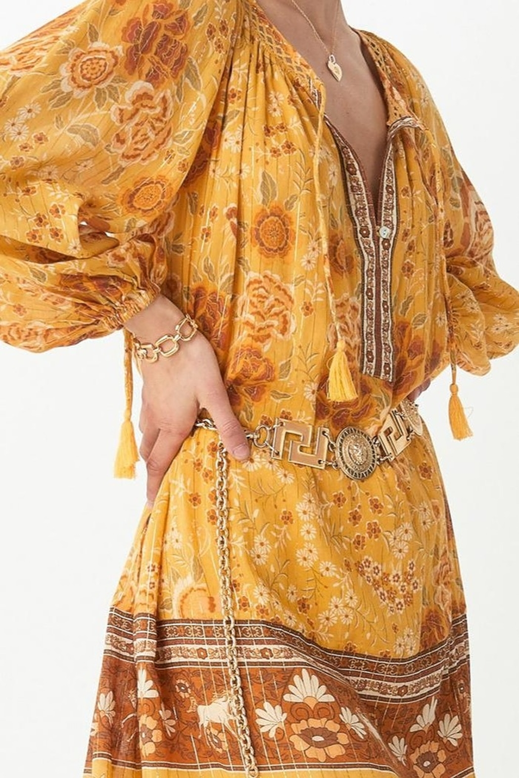 Spell & the Gypsy Collective Mystic Tunic Dress - Side Cropped Image