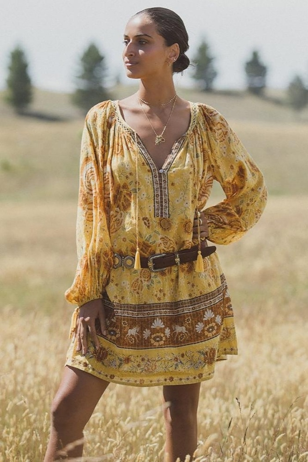 Spell & the Gypsy Collective Mystic Tunic Dress - Front Full Image