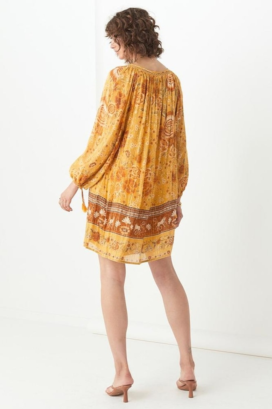 Spell & the Gypsy Collective Mystic Tunic Dress - Back Cropped Image