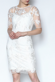 Mystic White Lace Dress - Product Mini Image