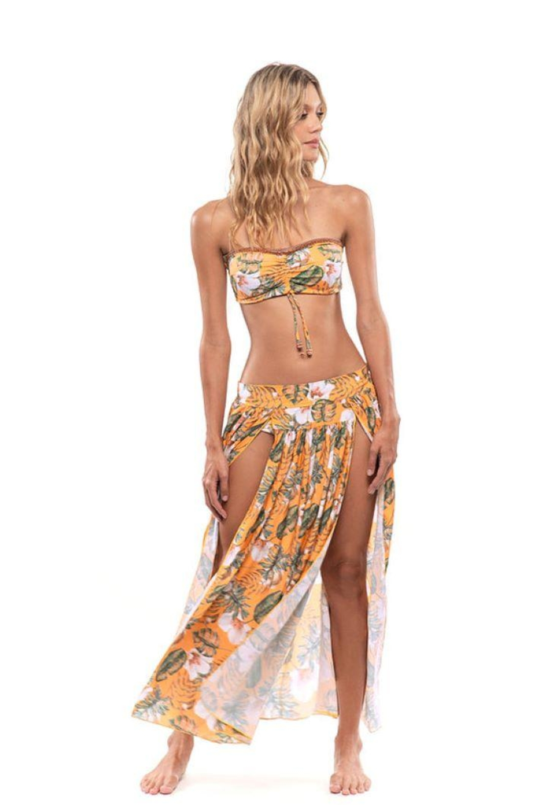 Mystical Swimwear Wild Floral Cover-Up Skirt - Main Image
