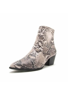 Qupid Mystique Snake Bootie - Product List Image