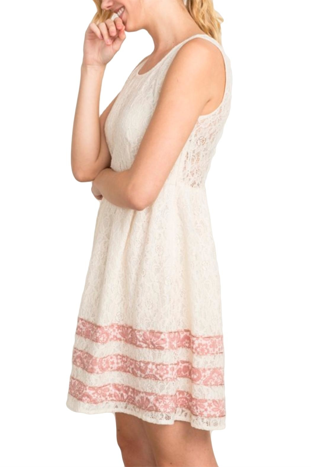 Mystree Abigail Lace Dress - Front Full Image