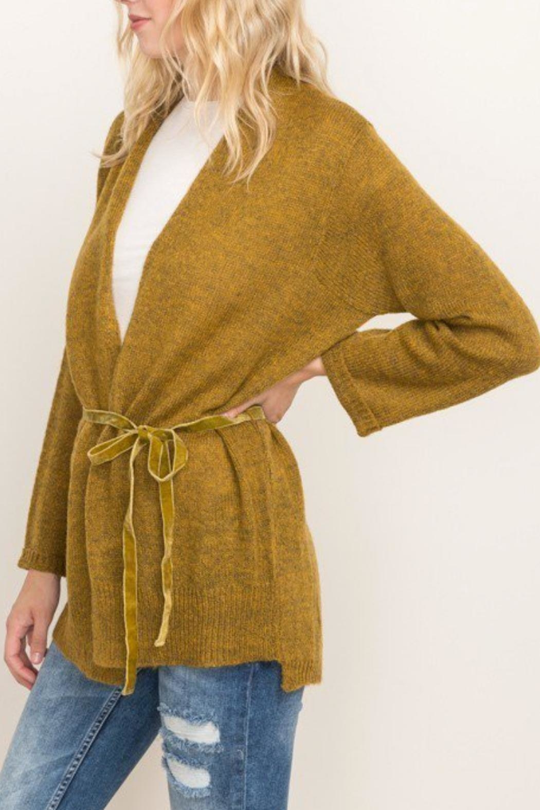 Mystree Afterglow Cardi - Side Cropped Image