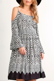 Mystree Aztec Print Dress - Product Mini Image