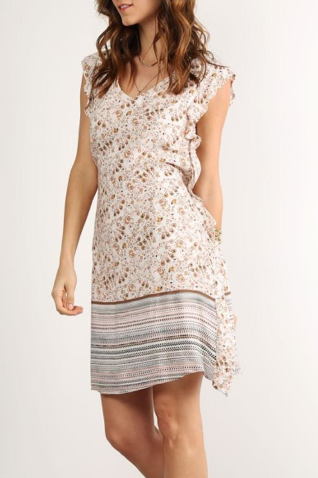 Mystree Back Lace Dress - Main Image