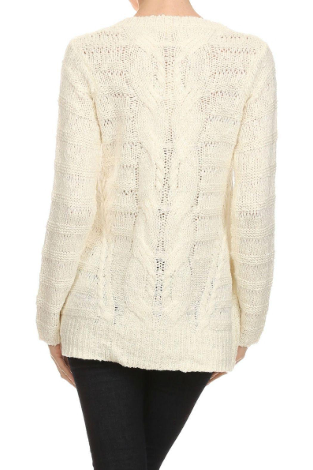 Mystree Cable Knit Sweater from Maryland by Coterie, a Boutique ...
