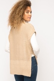 Mystree Cable Knit Sweater-Vest - Other