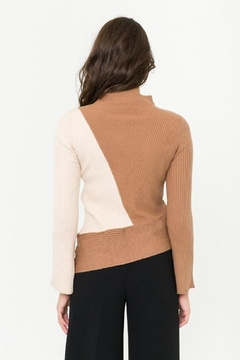 Mystree Color-Block Sweater - Alternate List Image