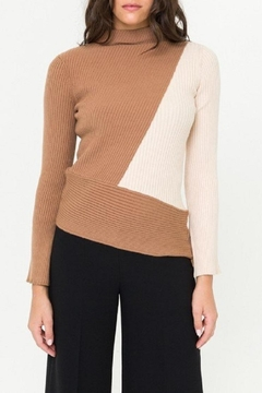 Mystree Color-Block Sweater - Product List Image