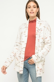 Mystree Confetti Print Cardigan - Product Mini Image