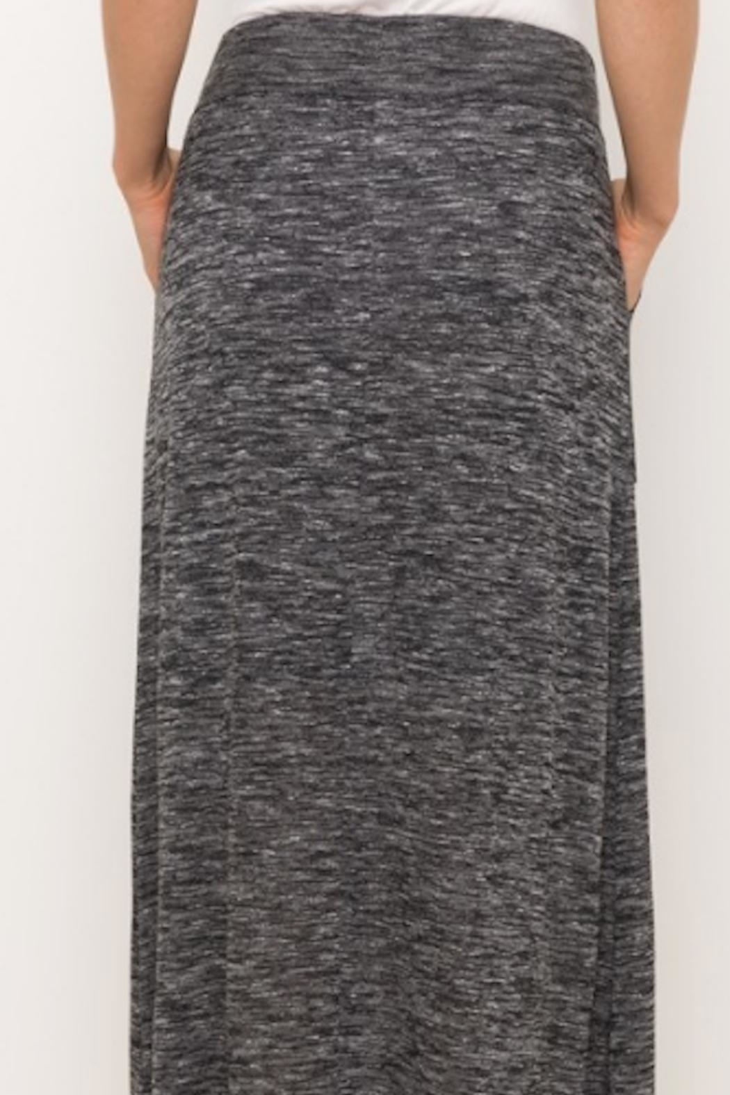 Mystree Cotton Long Skirt - Side Cropped Image