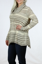 Mystree Cowl Neck Sweater - Back cropped