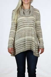 Mystree Cowl Neck Sweater - Front cropped