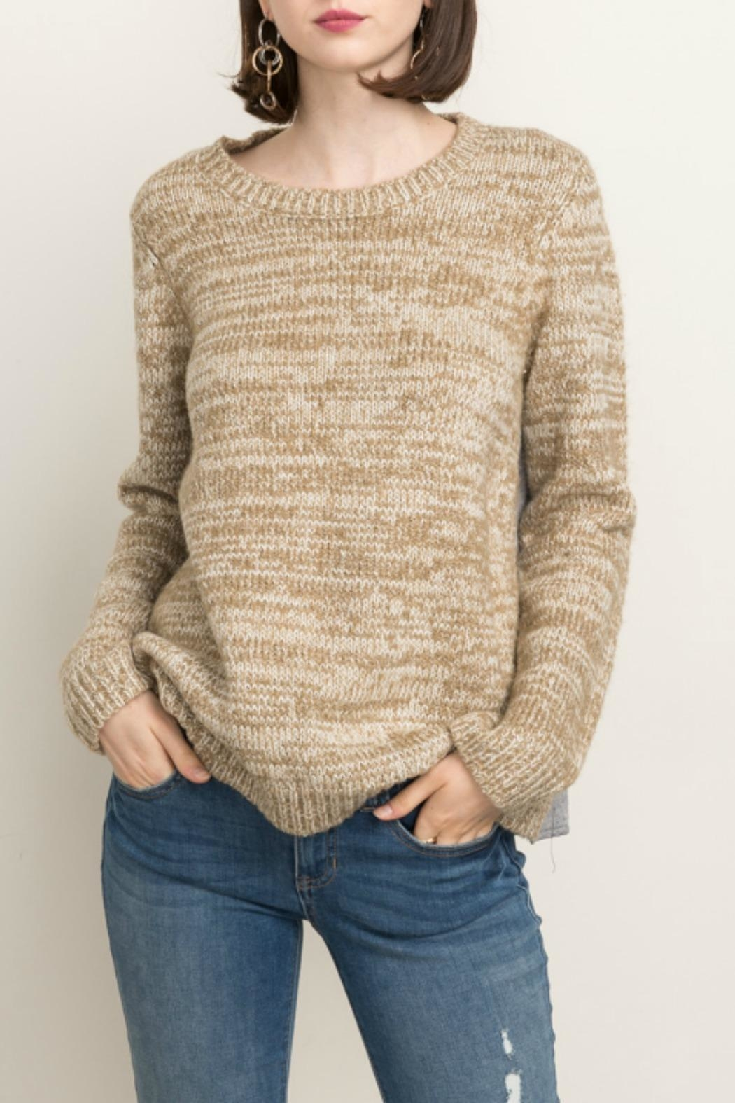 Mystree Cozy Sweater - Front Cropped Image