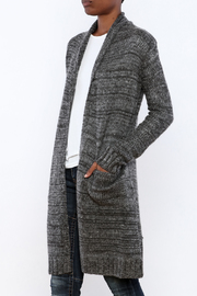 Mystree Deconstructed Knit Cardigan - Product Mini Image