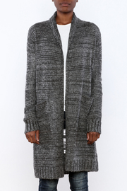 Mystree Deconstructed Knit Cardigan - Side cropped