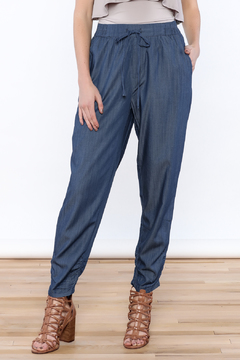 Shoptiques Product: Denim Jogger Pants