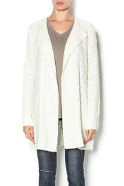 Mystree Diagonal Knit Cardigan - Product Mini Image