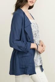 Mystree Double Collar Jacket - Product Mini Image