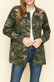 Mystree Embroidered Camo Jacket - Product Mini Image