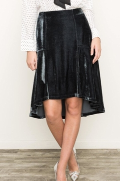 Mystree Emerald Velvet Skirt - Product List Image