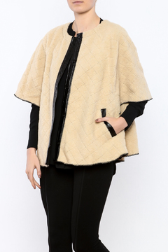 Shoptiques Product: Fleece Cape Jacket
