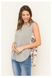 Mystree Floral Back Top - Side cropped