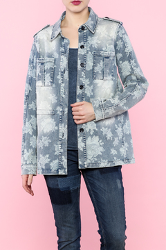 Shoptiques Product: Floral Denim Jacket