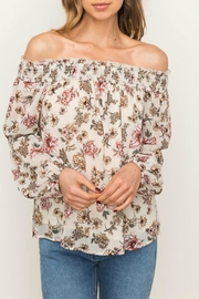 Mystree Floral Off Shoulder - Product Mini Image
