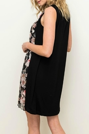 Mystree Floral Pleated Dress - Front full body