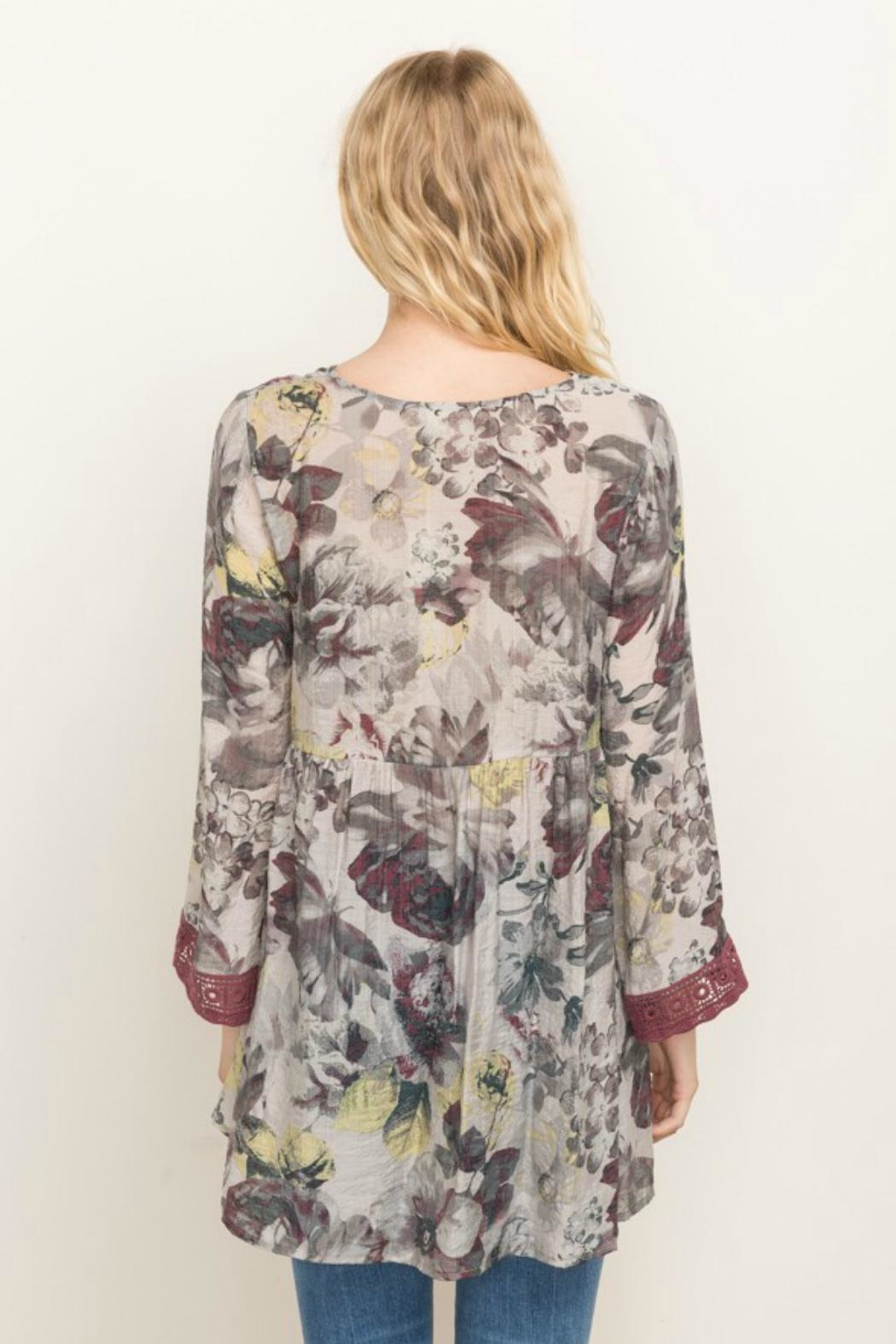 Mystree Floral Printed Babydoll - Front Full Image