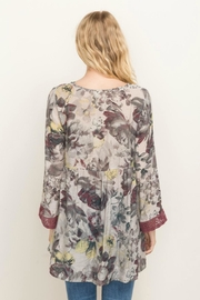 Mystree Floral Printed Babydoll - Front full body