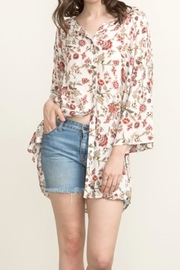 Mystree Floral Printed Tunic - Product Mini Image