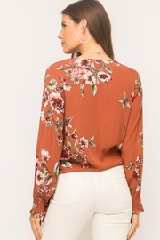 Mystree Floral Wrap Top - Other