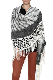 Mystree Fringe Wrap Poncho - Product Mini Image