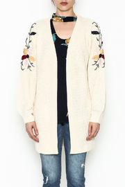Mystree Helene Embroidery Cardi - Front full body