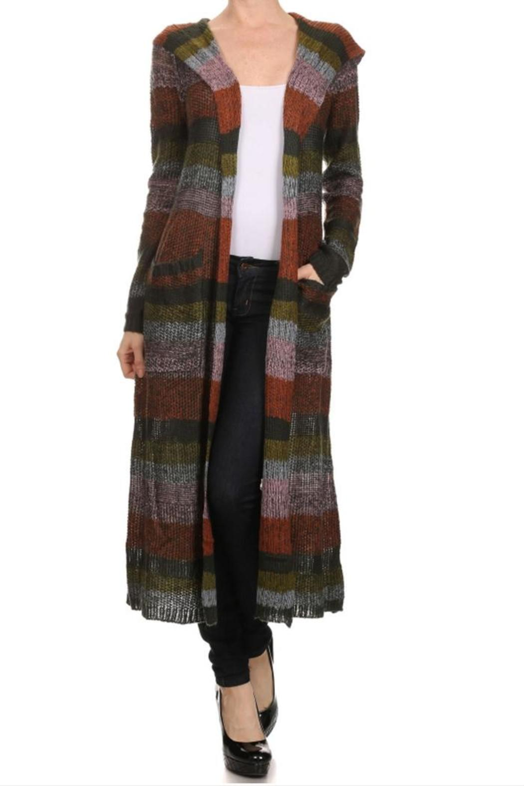 Mystree Hooded Maxi Cardigan from South Carolina by Flirt Boutique ...