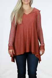 Mystree Sweater Hoodie - Front cropped
