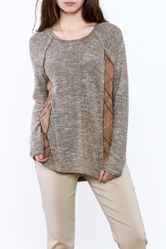 Mystree Grey Knit Top - Product List Image