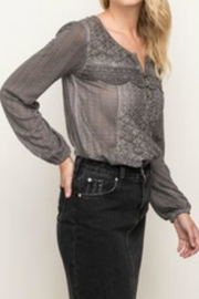 Mystree Lace Detailed Blouse - Front cropped