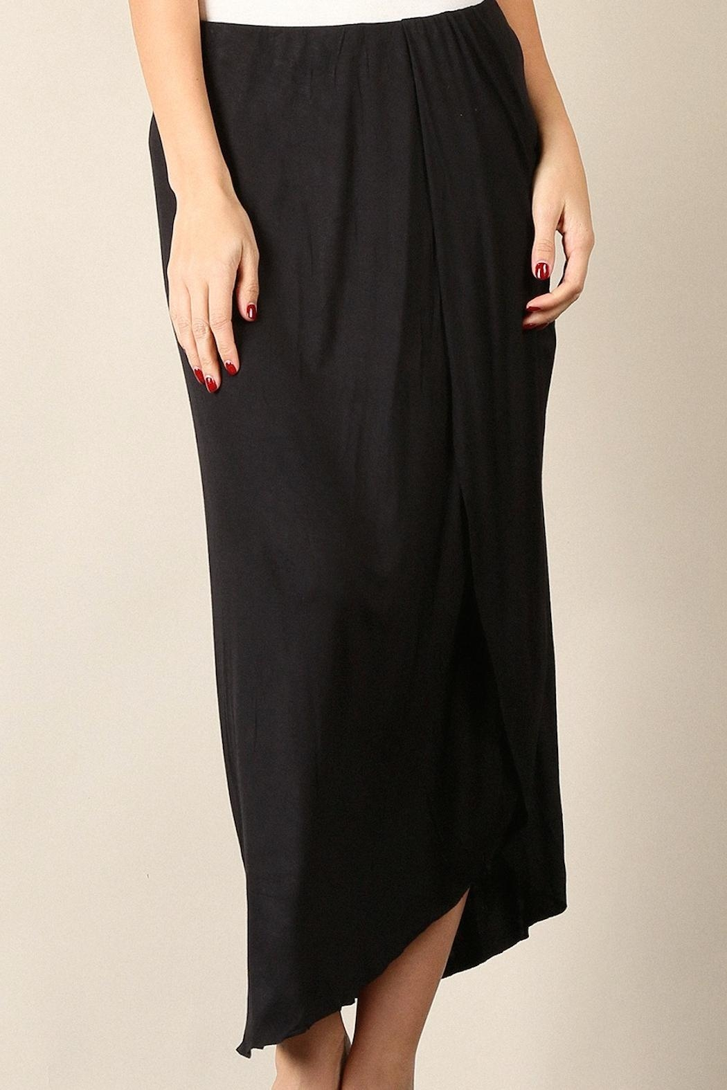 Mystree Midi Skirt - Side Cropped Image