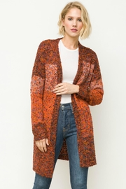 Mystree Mixed Cardigan - Product Mini Image